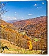 Randolph County West Virginia Acrylic Print