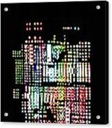 Random Cells 8 Acrylic Print