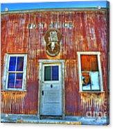 Randsburg Post Office Acrylic Print