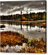 Raquette Lake In Upstate New York Acrylic Print