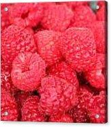 Raspberries Acrylic Print