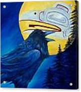Raven Spirit Acrylic Print
