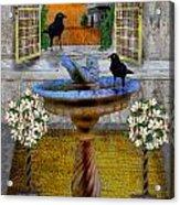 Ravens Wood Fantasy Acrylic Print