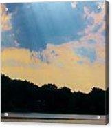 Rays Above Acrylic Print