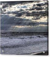 Rays Over The Atlantic Acrylic Print