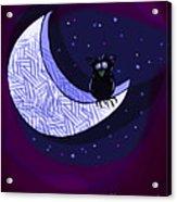 Reach For The Moon Acrylic Print