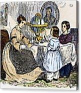 Reading, 1866 Acrylic Print