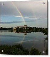 Reading Rainbow Acrylic Print