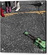 Real Gone In Nowheresville Acrylic Print by Terry Doyle