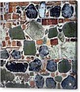 Rebuilt Wall Acrylic Print by Dirk Wiersma