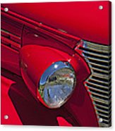 Red 1938 Chevy Coupe Acrylic Print