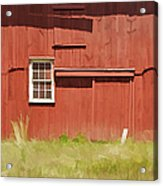 Red Barn Of New Jersey Acrylic Print