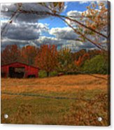 Red Barn1 Acrylic Print