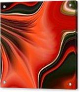 Red Beauty Acrylic Print