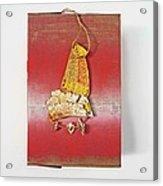 Red Box Acrylic Print