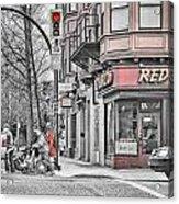 Red Burrito Acrylic Print by Paul W Sharpe Aka Wizard of Wonders