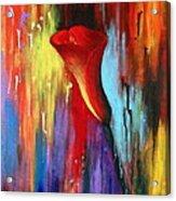 Red Calla Lily Acrylic Print