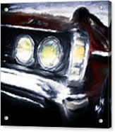Red Car Acrylic Print
