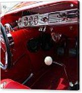 Red Chevy Impala Acrylic Print