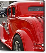 Red Coupe Acrylic Print