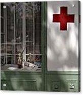 Red Cross. Belgrade. Serbia Acrylic Print