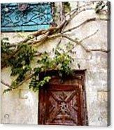 Red Door Blue Door Acrylic Print