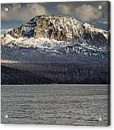 Red Eagle Mountain Evening Acrylic Print