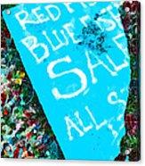Red Fish Blue Fish Sale Acrylic Print