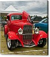 Red Hot Rod Acrylic Print