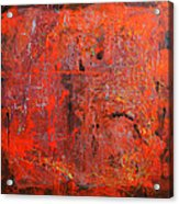Red Ice Acrylic Print