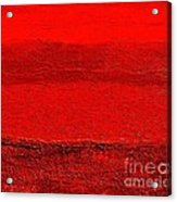Red Ll Acrylic Print