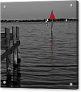 Red Marker 6 Acrylic Print