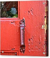 Red Of Course Acrylic Print