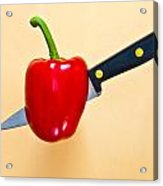 Red Pepper Acrylic Print