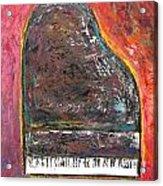 Red Piano Acrylic Print