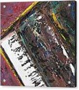 Red Piano Series 7 Acrylic Print
