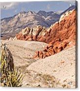 Red Rock Canyon - Keystone Thrust Acrylic Print