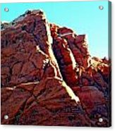 Red Rock Canyon 5 Acrylic Print by Randall Weidner