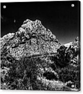 Red Rock Canyon At Spring Mountain Acrylic Print