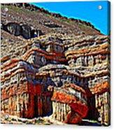 Red Rock Canyon California Acrylic Print