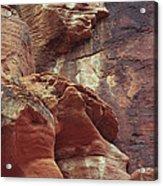 Red Rock Canyon Petroglyphs Acrylic Print