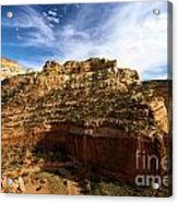 Red Rock Canyons Acrylic Print