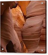 Red Rock Formations, Antelope Canyon Acrylic Print