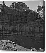 Red Rock - Huge Panorama Acrylic Print