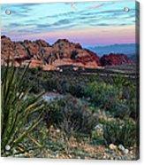 Red Rock Sunset II Acrylic Print