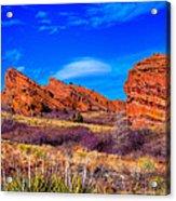 Red Rocks Park Colorado Acrylic Print