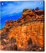 Red Rocks Park Colorado IIi Acrylic Print