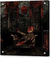 Red Room Acrylic Print