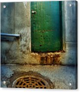 Red Shoes By Green Door Acrylic Print