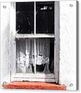 Red Sill Acrylic Print
